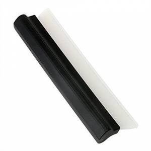iTimo Car Cleaning Water Squeegee Blades Soft Silicone T-Bar in 10.43in Length for Windshield Window Glass Wiper Wash Ice Scrapers/Snow Brushes