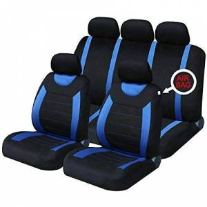 Ride Along UK Blue Carnaby Full Set Car Seat Covers - 9722