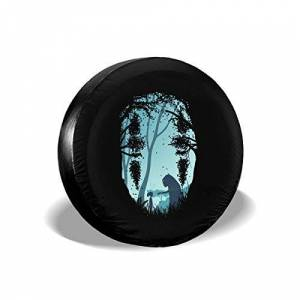 """RTGreat Polyester Spare Tire Wheel Cover Car Truck SUV Camper 14"""" 15"""" 16"""" 17"""" Anime Spirited Away"""