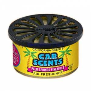Organic Spillproof Car Scents Palm Springs Pineapple