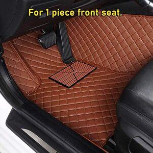GHC-CASES-2 GHC Car Mats Custom Car Floor Mat For Buick Excelle Enclave GL6 Null VELITE 5 Envision Encore GL8 Verano Park Avenue Lacrosse Regal (Color : 1 piece front coffee)