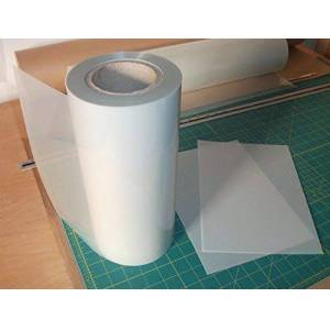 Mylar stencil roll 350 microns sold per meter x 600mm - stencilling sheets cheap