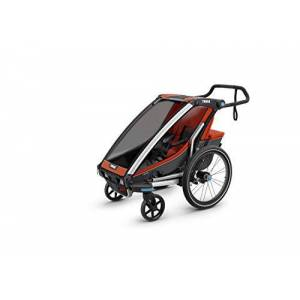 Thule Baby Chariot Cross Multisport Trailer, Roarange, 1 child