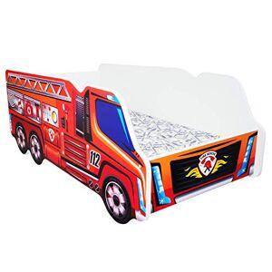 Topbeds TODDLER CHILDREN KIDS BED INCLUDING MATTRESS CAR TRUCK (Fire Truck)
