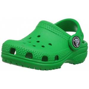 204536-338-5 M US Toddler Crocs Unisex Kid's Classic Clog, Green (Grass Green), 5 UK Child