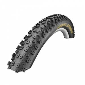 Schwalbe Hans Dampf Evo Folding Supergravity Tubeless Tyre with Ready Trailstar 995 g (60-559) - 26 x 2.35 Inches, Black