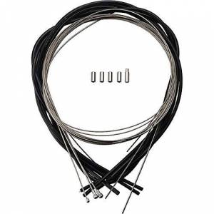 Campagnolo Unisex's Ultra/Power-Shift Cableset, Black, One Size