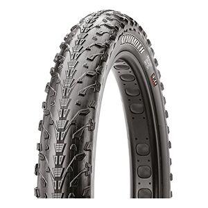 Maxxis Unisex's Mammoth Folding Fat Bike Tyre, Black, Size 26 x 4.0