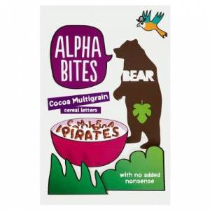 Bear Alphabites Cocoa 4x375g