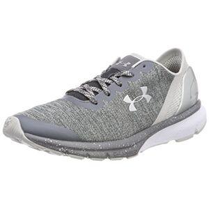 Under Armour UA W Charged Escape, Women's Running Running Shoes, Grau (Rhino Gray), 4 UK (37.5 EU)