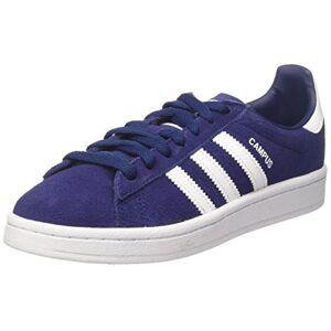 adidas Unisex Kids' Campus Trainers, Blue (Dark Blue/footwear White/footwear White), 4 UK