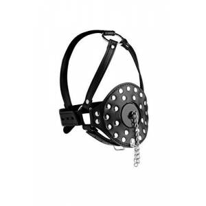 Strict Open Mouth Head Harness, Black