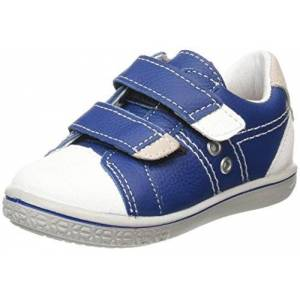 2523000_150 Ricosta Boys' Nippy Trainers, Blue (Enzian/Weiss 150), 5.5 Child UK 22 EU