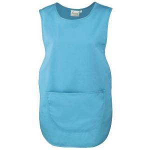 Premier Ladies/Womens Pocket Tabard / Workwear (3XL) (Turquoise)