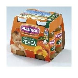 Plasmon Babyfruit Peach Juice (4x125g)