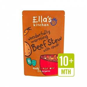 Ella's Kitchen Wonderfully Warming Beef Stew with Spuds 190g - Pack of 2