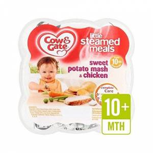 Cow & Gate Steam Sweet Potato Mash with Chicken 230g - Pack of 6