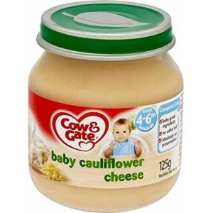 Cow & Gate Baby Cauliflower Cheese 4-6mth+ (125g) - Pack of 6