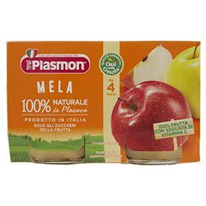 Plasmon Apple Meal Puree (2x104g)