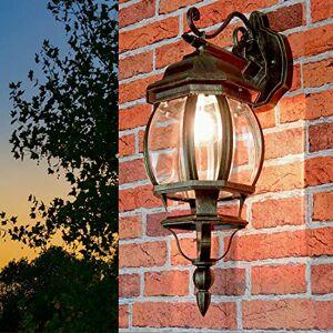 Antique Gold Brest Hanging Garden Lantern / Outdoor Lighting / Wall Light