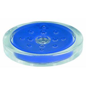Spirella Sydney Soap Dish Acrylic Blue Height 3 cm x Width 13 cm