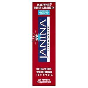 Janina Ultrawhite Maxiwhite Intensive Whitening 75ml (PACK OF 4)