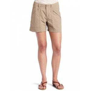 Royal Robbins Women's Backcountry Hiking Shorts ,Beige(Khaki),Manufacturer Size:4