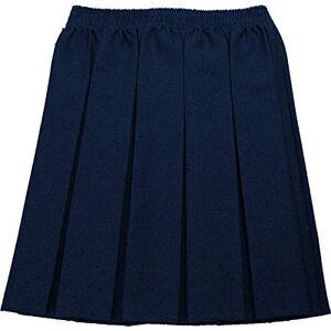 ONLYuniform School Skirt Girls Box Pleat Uniform All Colours Sizes Navy 9-10 Years
