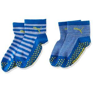 Puma Baby Boys Sock Abs 2p Calf,  Blue (Blue Green Combo 634)-15/18