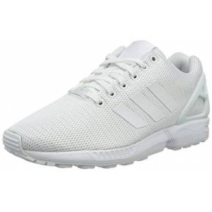 S32277_Ftwr White/Ftwr White/Ftwr White adidas Zx Flux, Unisex Adults' Low-Top Sneakers, White (Ftwr White/ftwr White/clear Grey), 11.5 UK (46 2/3 EU)