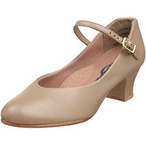 Capezio Junior Footlight, Women's Character Shoes, Beige (Tan), 3 UK (5.5 US)