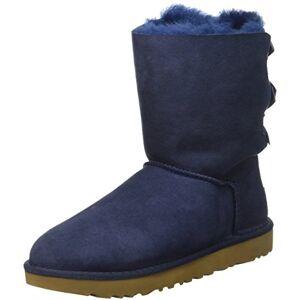 1016225 Ugg Australia Bailey Bow, Women's Half Calf Boots, Blue (Navy),6 UK (39 EU)