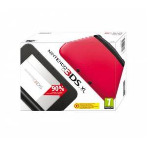 Nintendo 3DS - Console XL, Red And Black