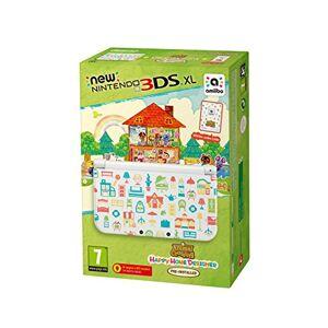 Nintendo New 3DS XL + Animal Crossing: Happy Home Designer  + amiibo Card