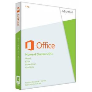 Microsoft Office Home and Student 2013, Licence Card, 1 User (PC)