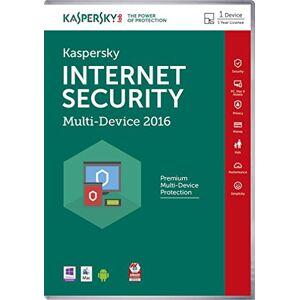 Kaspersky Internet Security 2016 1 User - Licence Key (PC)
