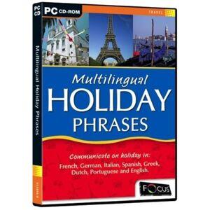 Focus Multimedia Ltd Multilingual Holiday Phrases  (PC)
