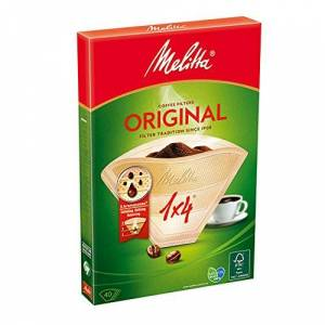 Melitta Classic Filter Papers 1x4 40 Pack 100g