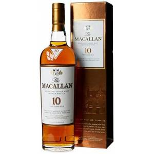 Macallan 10 Year Old Sherry Oak Highland Single Malt Whisky, 70 cl