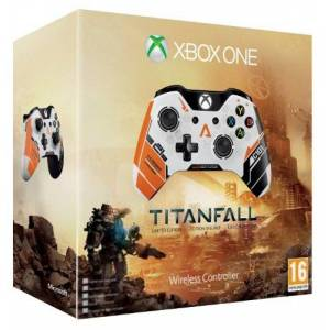 Microsoft Official Xbox One Wireless Controller - Titanfall Special Edition (Xbox One)
