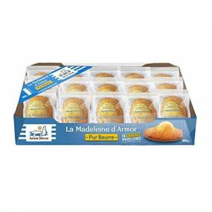 Armor Delices La Madeleine D'Armor All Butter Fresh French Cakes Bite Breakfast Tea 600g