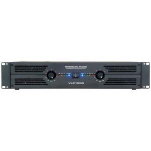 American Audio Professional Power Amplifier (1400W RMS, 20Hz/20KHz)
