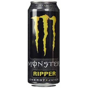 Monster Cable Ripper Energy Plus Juice Can 500 Ml (Pack of 12)