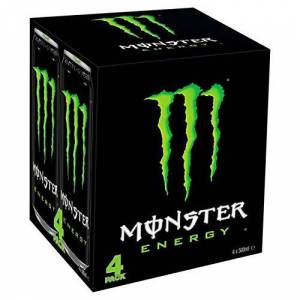 Monster Cable Energy 4 x 500ml