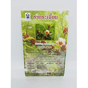 The Blue Tea Company Roselle Tea (Hibiscus sabdariffa L) - Traditional Thai Herbal Tea Bags for Health