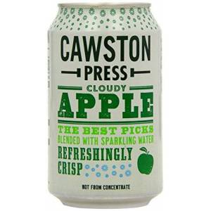 CAWSTON Press Cloudy Apple Can 330ml (Pack of 1)