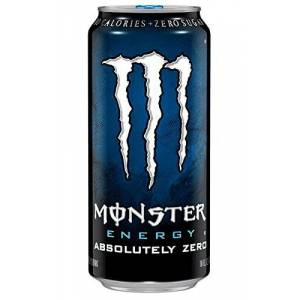 Monster Cable Absolutely Zero 50cl (pack de 24)