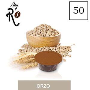 FRHOME 50 A modo mio Barley Soluble Capsules - Barley -50 x Soluble Capsules/pods Espresso Compatible A modo mio- MyRistretto - FRHOME