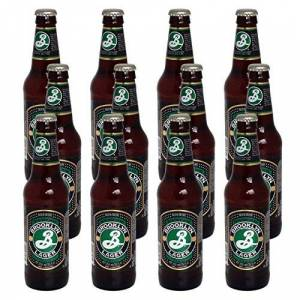 Brooklyn Brewery Lager Beer 355 ml (Case of 12)