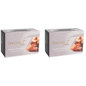 SPECIAL.T Special T - 20 Caramel Goumand - Capsules for Nestle Special.T machine - Green / Black Tea